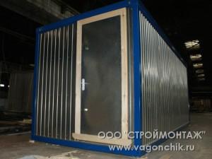 стандартный блок-контейнер