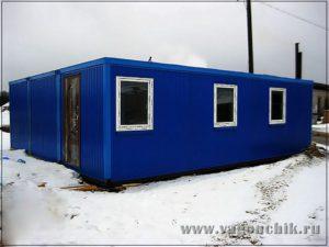 Модульное здание база