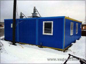 Готовое модульное здание