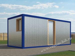 Сантехнический блок контейнер