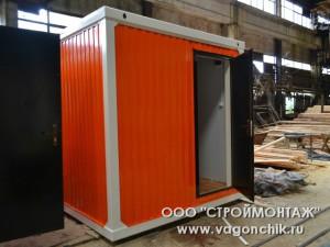оранжевый блок-контейнер