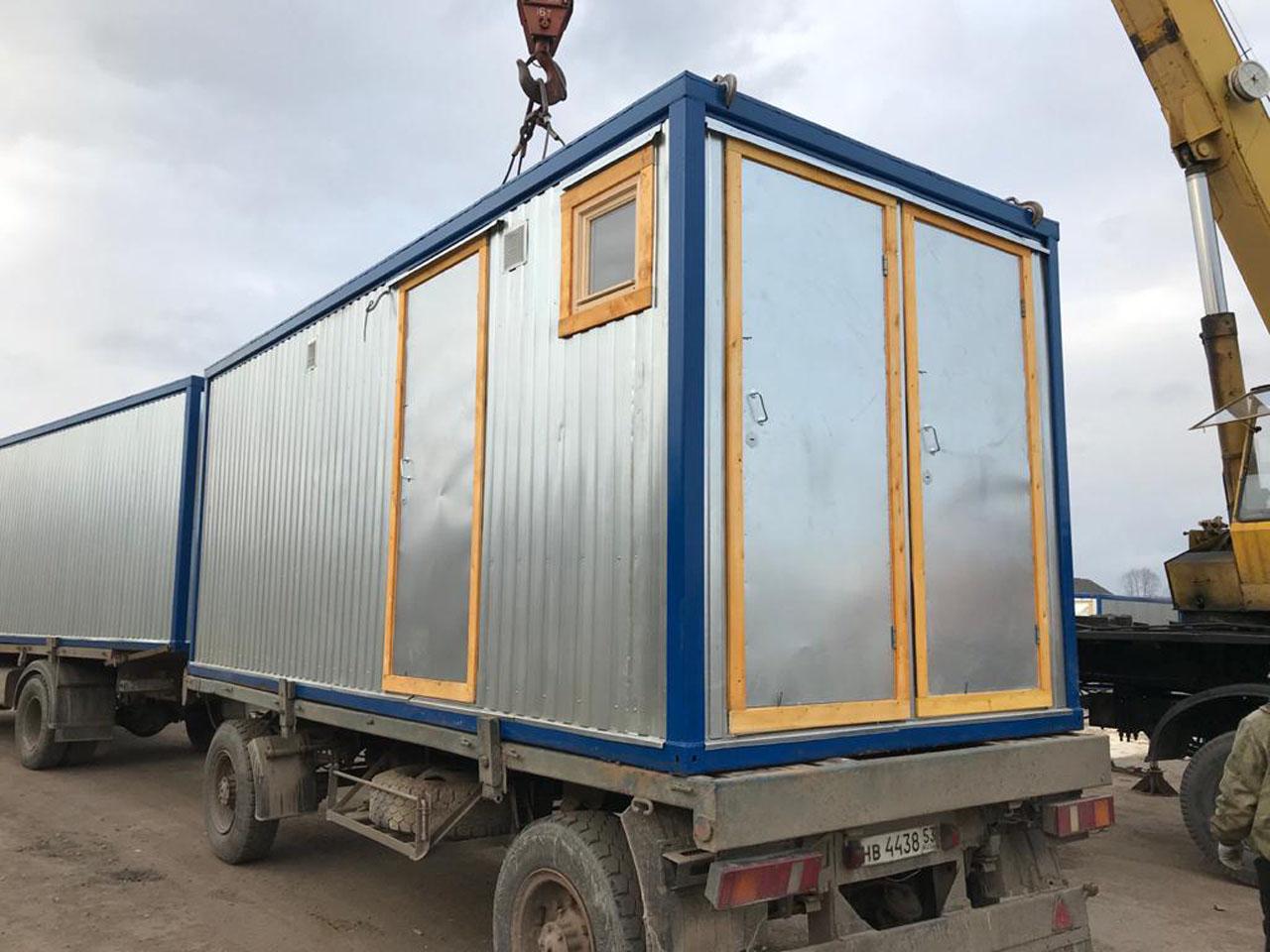 Блок контейнер СанБК-16